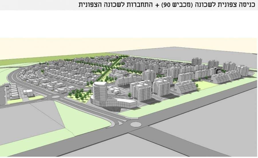 ת.ב.ע שכונת יצחק שמיר // אמר - קוריאל אדריכלים