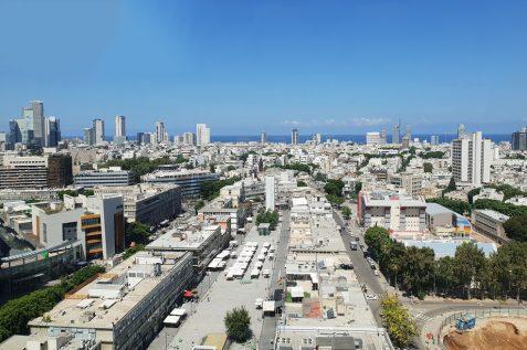 """תמ""""א 38 בתל אביב   52% מהתחלות הבנייה בשנה האחרונה נבנו במסגרת התחדשות עירונית // מגדילים"""