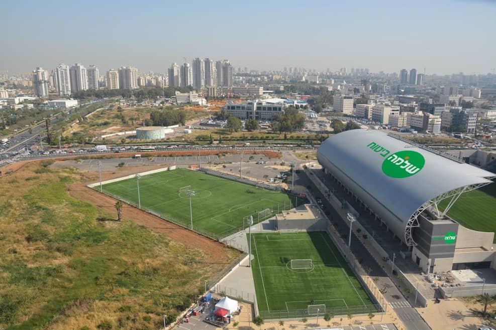 הדמיה של אצטדיון שלמה ביטוח // צילום שביט. וזהו