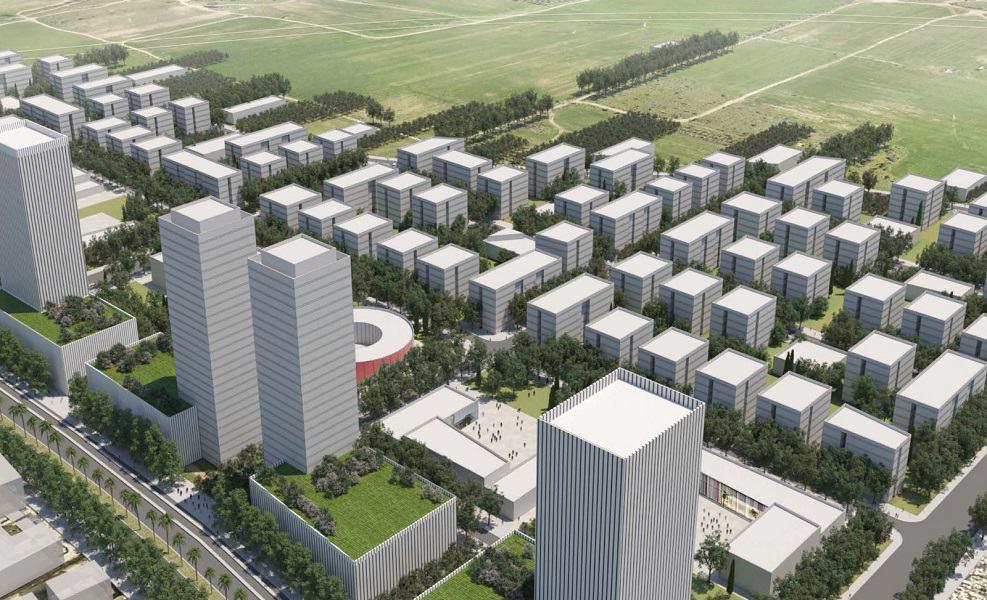 תכנית מזרח רחובות // מנדי רוזנפלד אדריכלים ו'דירה להשכיר