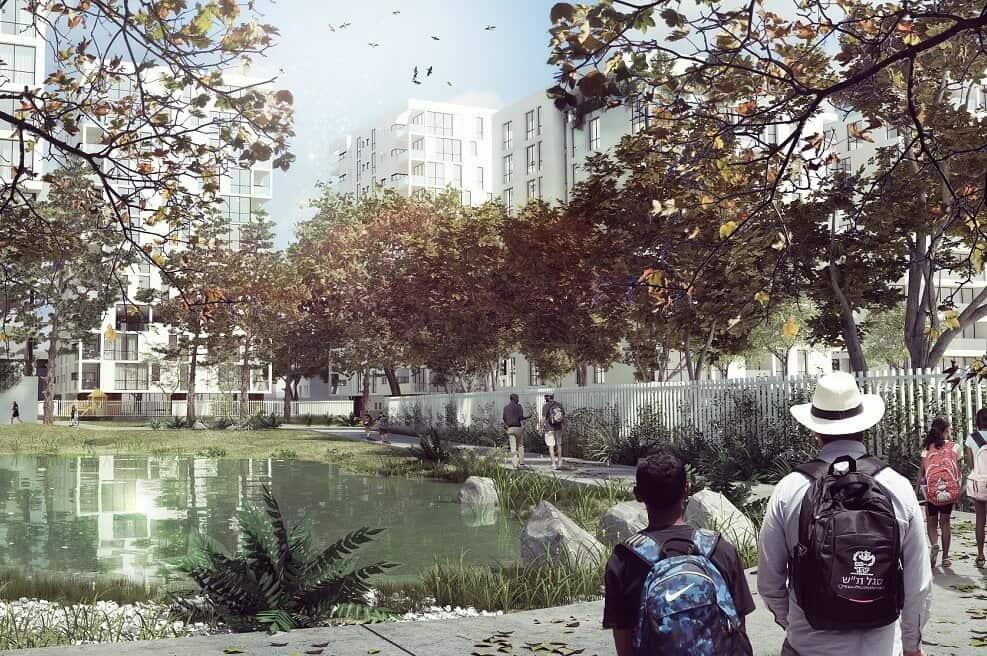 התחדשות עירונית בשכונת קרית משה // בר לוי אדריכלים ומתכנני ערים