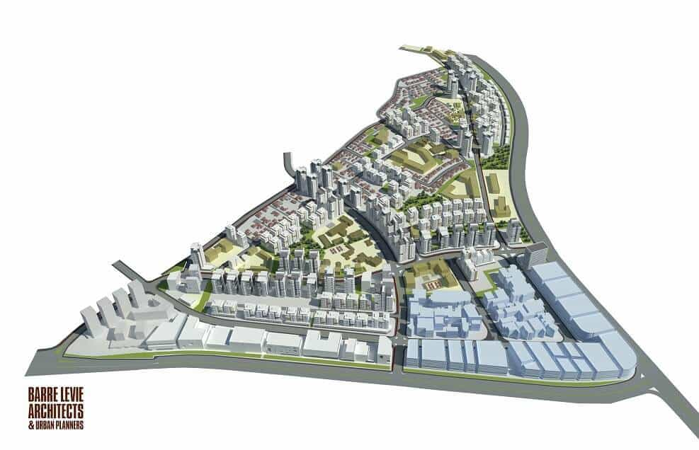 פינוי בינוי רחובות |פינוי בינוי ברחובות בשכונת קרית משה| בר לוי אדריכלים ומתכנני ערים