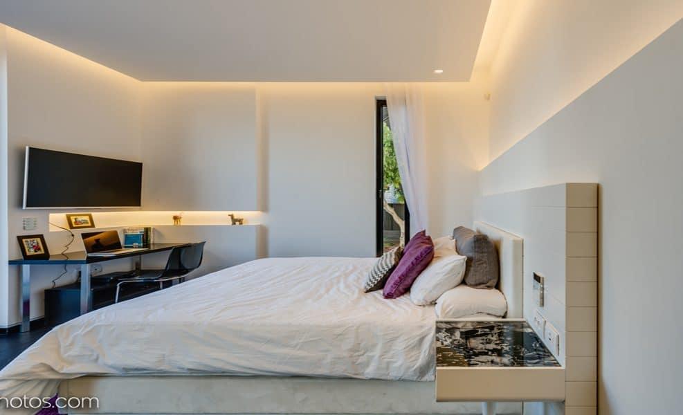 תכנון תאורה בני טבת, אדריכלות דור קונפינו, צילום ליאור טייטלר