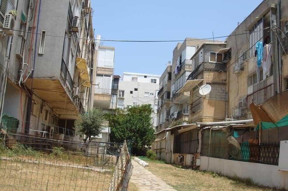 המבנים הישנים ברחוב רוטשילד בבת ים // צילום יחצ
