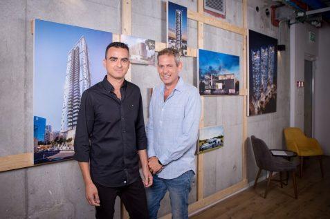 האדריכלים ערן לשם וערן שקד - citybee אדריכלים // צילום: גבע טלמור