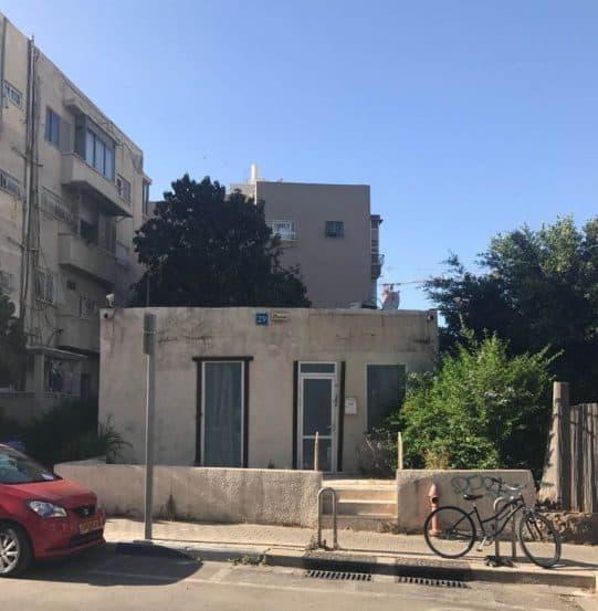 הבית באבן גבירול פינת השופטים בתל אביב // צילום ניר לוי