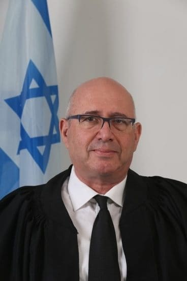 השופט אליהו בכר // באדיבות אתר הנהלת בתי המשפט