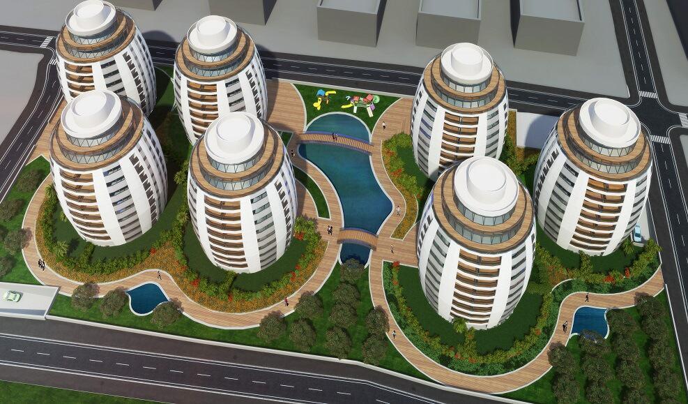 """הצעה למתחם פינוי בינוי בת""""א // עדנה מור אדריכלות ובינוי ערים"""