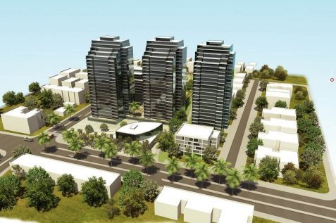 פרויקט פינוי בינוי רמבם בהרצליה - החברה לפיתוח והתחדשות עירונית. תכנון - כנען שנהב אדריכלים // יחצ