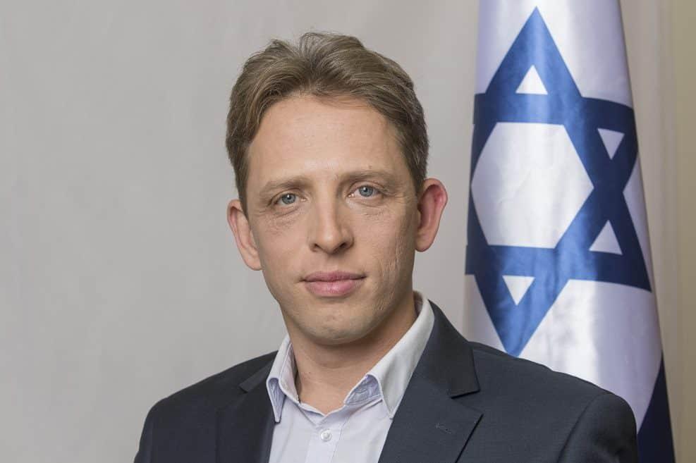 חבר הכנסת רועי פולקמן // צילום: יוסי אלוני באדיבות דוברות מפלגת כולנו
