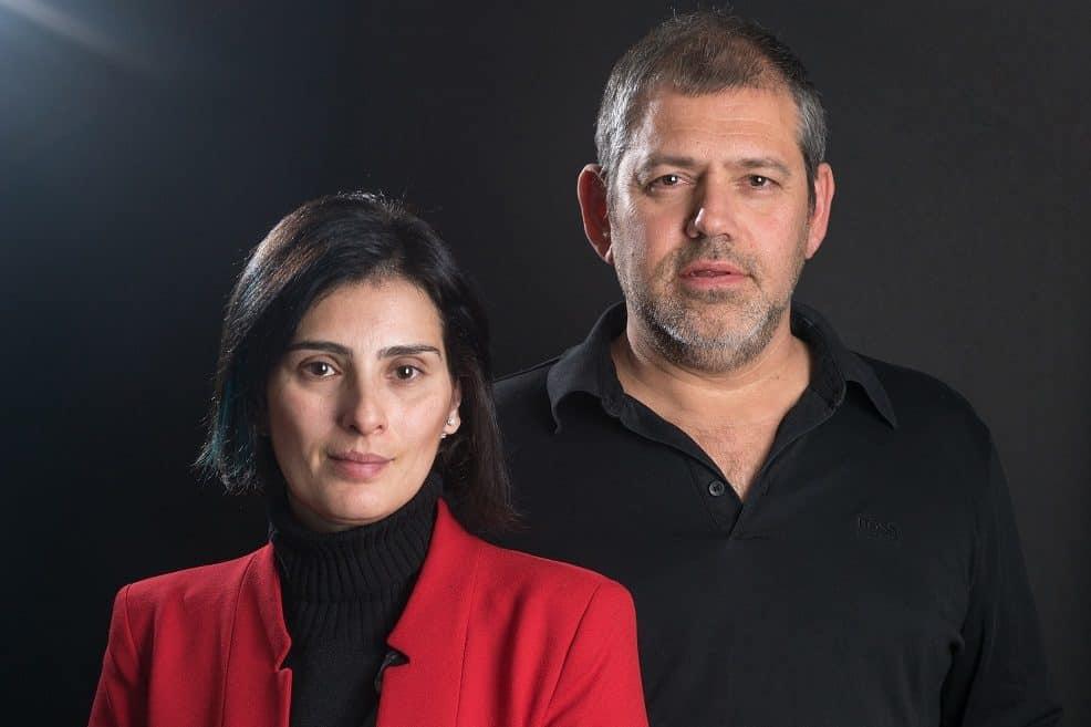 האדריכלים דן והילה ישראלביץ' // צילום: מעוז ויסטוך