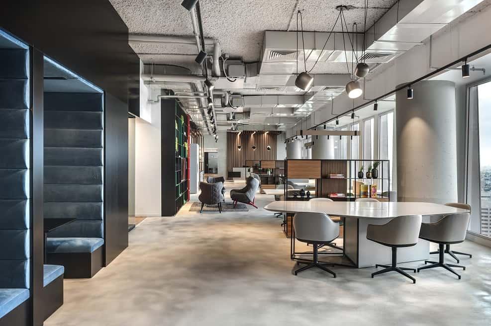 """משרדי REGUS שרונה ת""""א עיצוב אורלי דקטר // צילום: עודד סמדר"""