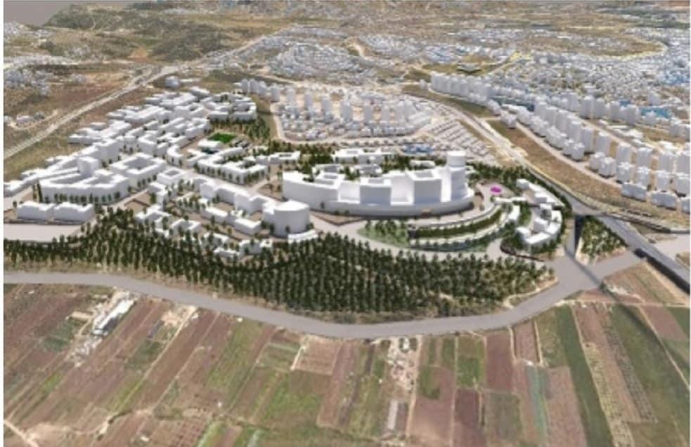 בית חולים חדש בקרית אתא // הדמיה: מילול קורן