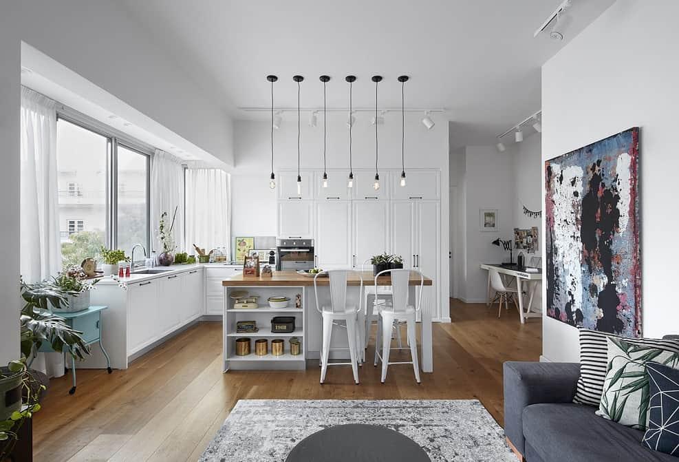 דירה מאתגרת | עיצוב דורית וינברן // צילום: שי גיל