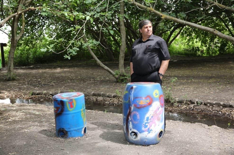 """דני עטר // צילום: צילום יוסי זמיר, באדיבות דוברות קק""""ל"""
