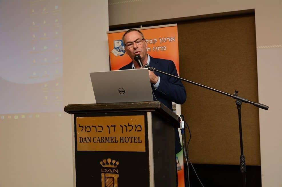 נשיא התאחדות בוני הארץ רוני בריק // צילום איתמר סיידא
