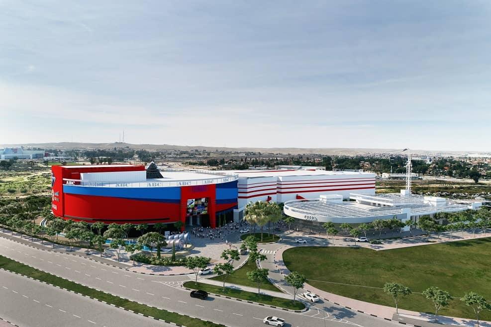 סינמה סיטי באר שבע - תכנון מרש אדריכלים // הדמייה וויו פוינט