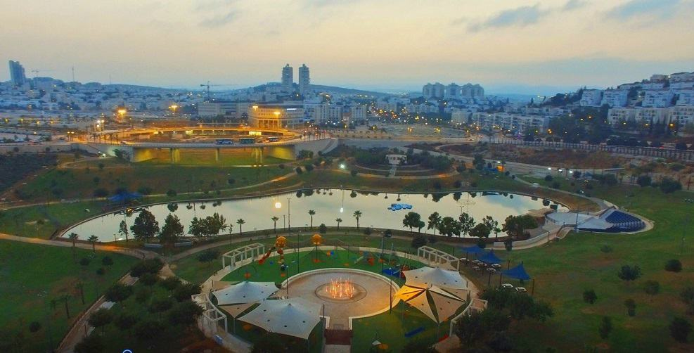 פארק ענבה המשודרג // באדיבות דובר העירייה