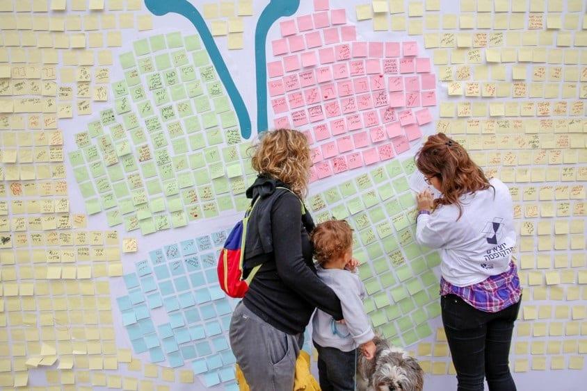 תהליך שיתוף ציבור בתל אביב // צילום: מאיה אמדו