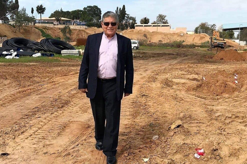 ראש עיריית יבנה, צבי גוב ארי // באדיבות דוברות עיריית יבנה