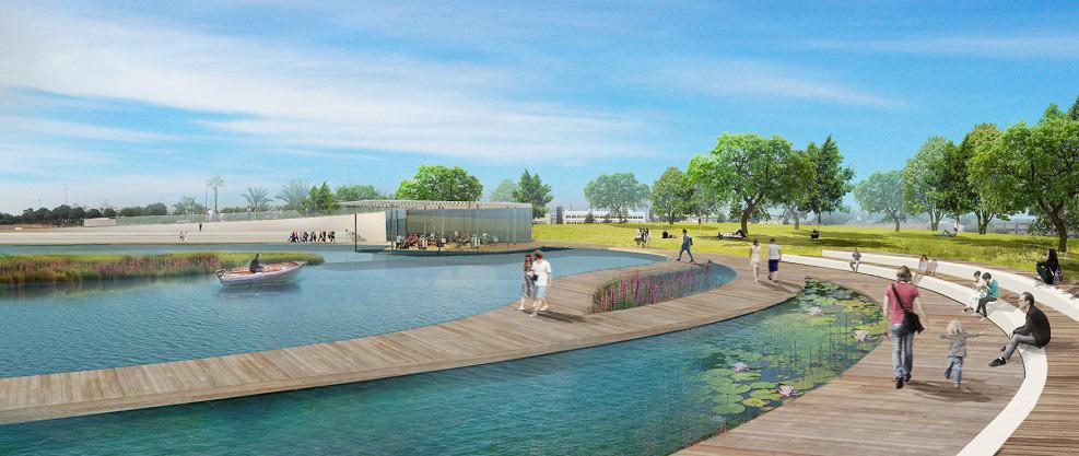 פארק האגם // תכנון: מיזליץ כסיף אדריכלים