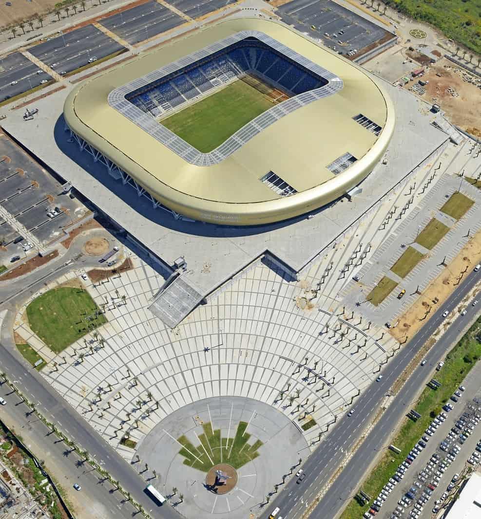 אצטדיון סמי עופר - אדריכלים מנספלד קהת // צילום ונציאן ורהפטיג