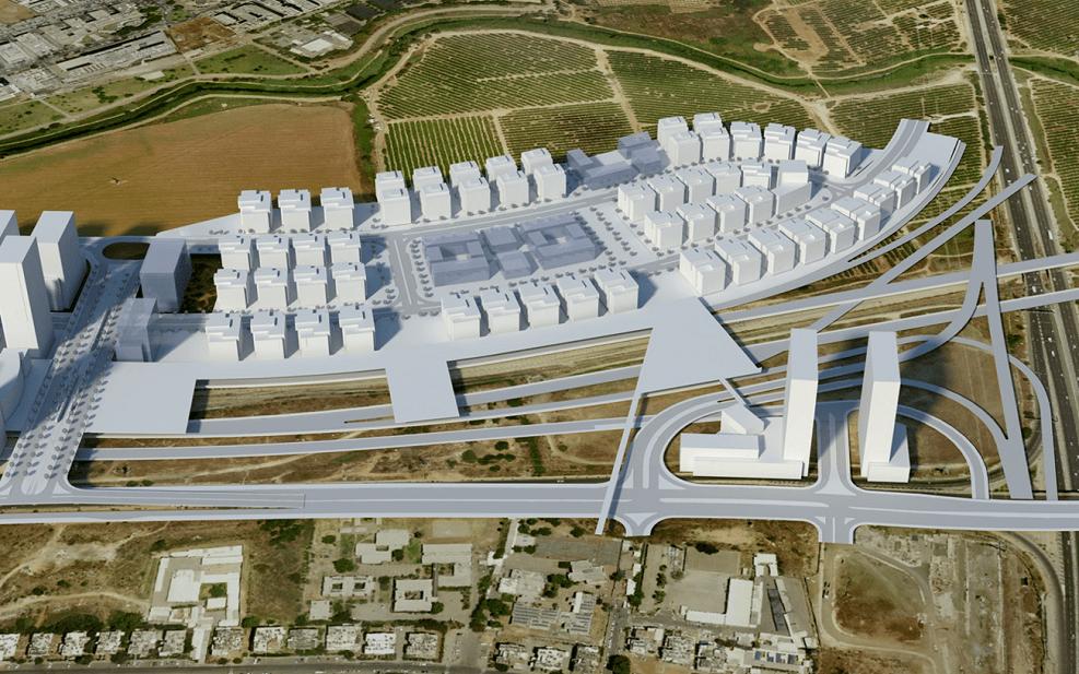 הדמיות באדיבות רשות מקרקעי ישראל
