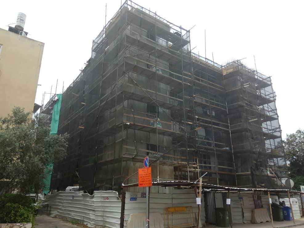 התחדשות עירונית בחולון // צילום באדיבות דוברות העיריה