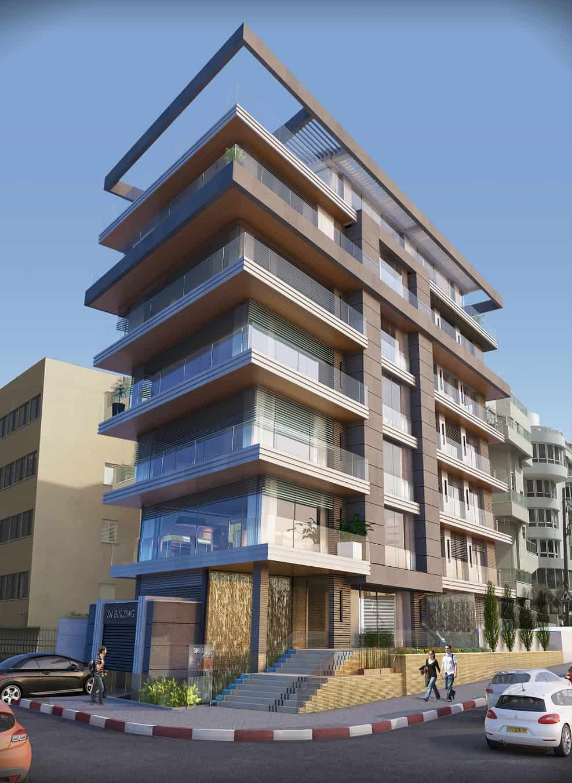 פרוייקט התחדשות עירונית | תכנון: אדריכל מיקלה סימאונה // יחצ