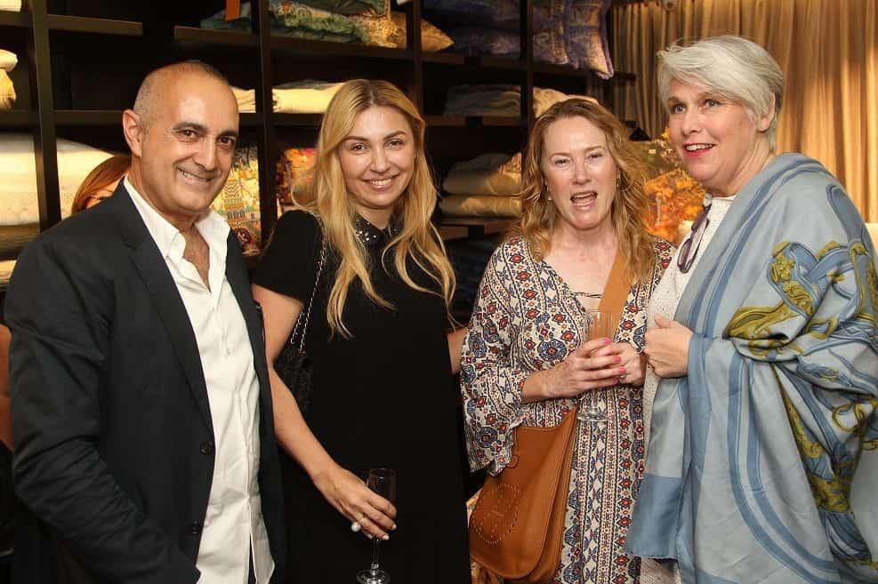 קארין פריסה, מרגרט אדמאס, אירמה אורנשטיין ובני מורן // צילום: ניר קידר