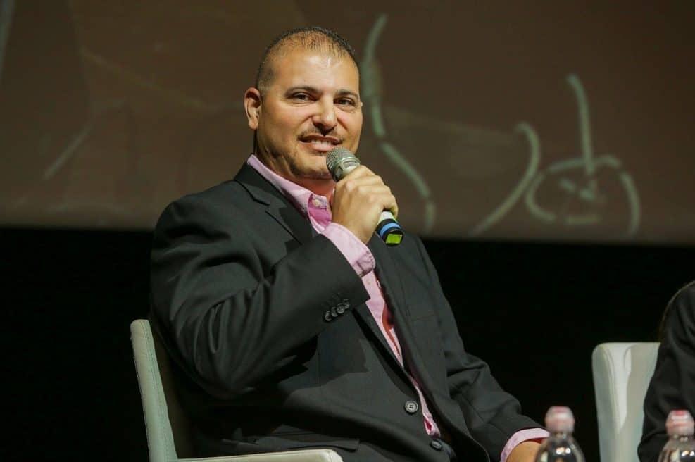 אסף אמר מרצה בכנס התחדשות עירונית // צילום: שי שבירו