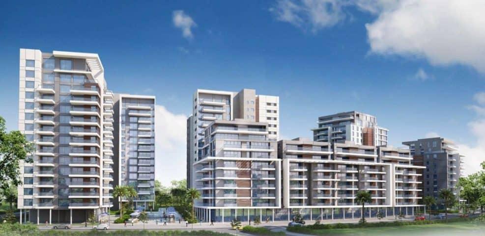 פרויקט פינוי בינוי של חברת מנרב - נווה ישראל הרצליה // הדמיה: בראז אדריכלים