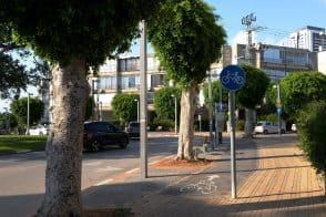 שבילי אופניים בעיר חולון // באדיבות דוברות עיריית חולון