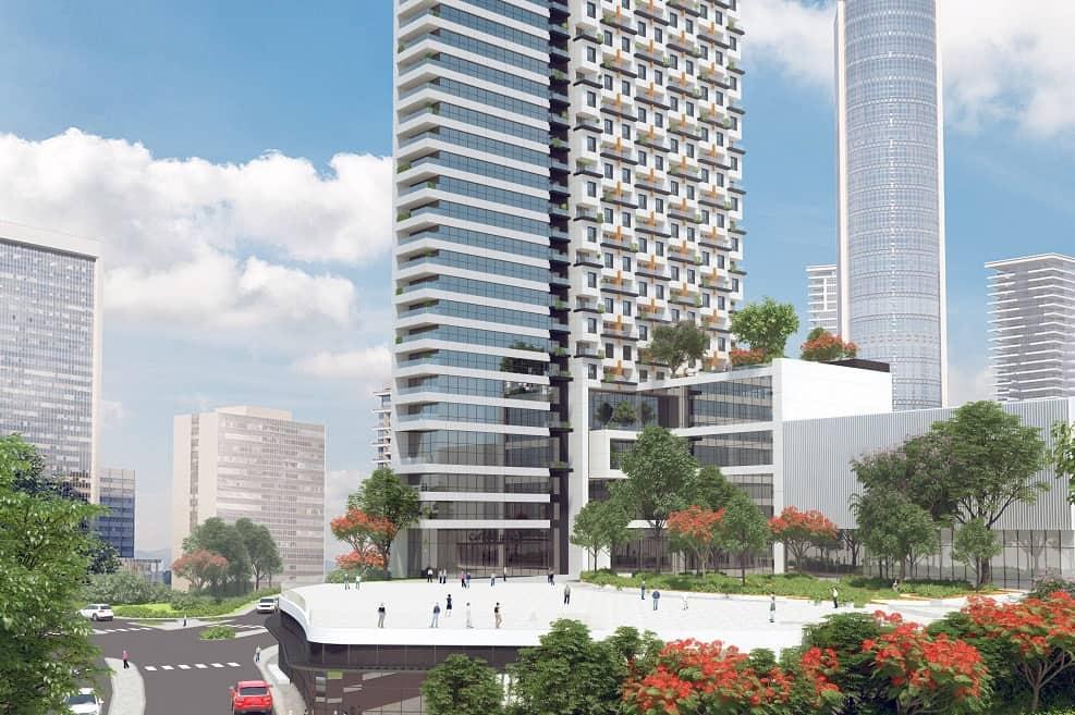 מגדל דיור מוגן של חברת רובינשטיין בתכנון מילוסלבסקי אדריכלים