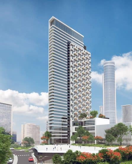 מגדל דיור מוגן של חברת רובינשטיין בתכנון מילוסלבסקי אדריכלים(1)