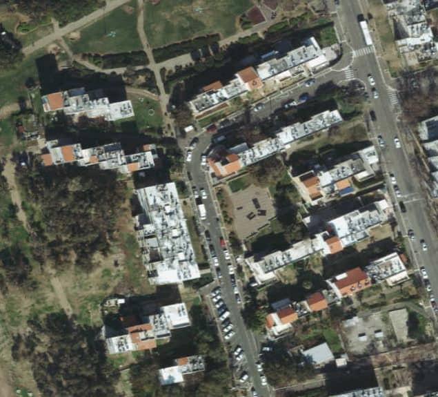 צילום אוויר למתחם הפינוי בינוי של יוסי אברהמי בחנווה דוד בחיפה // יחצ