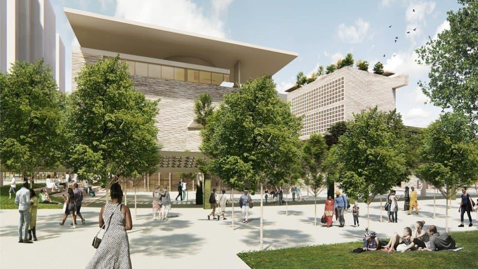 תכנון: סר דיויד אדג׳י, אדג׳י ושות׳, מיקו ארדיטי - ג.א.ב. אדריכלים, ליטל סמוק- תמא אדריכלים