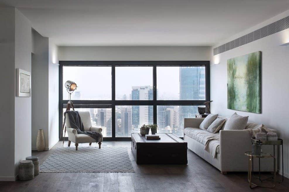עיצוב דירה במגדלי יוקרה // צילום: עמית גושר