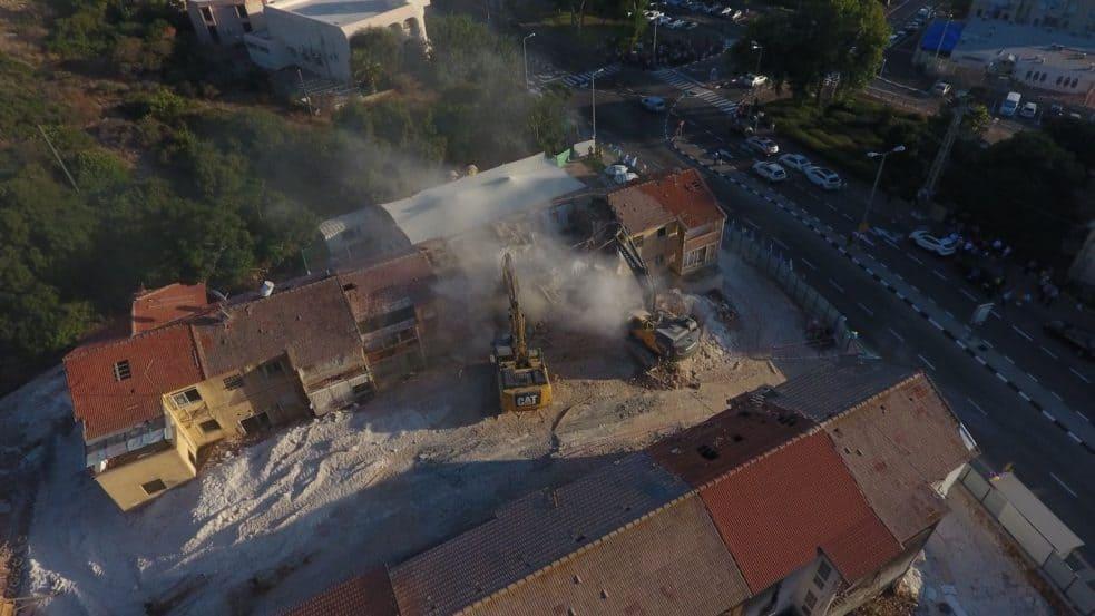 פינוי בינוי בחיפה // באדיבות דוברות עיריית חיפה