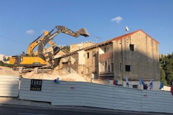 פינוי בינוי ראשון בקריית שפרינצק בחיפה // באדיבות עיריית חיפה