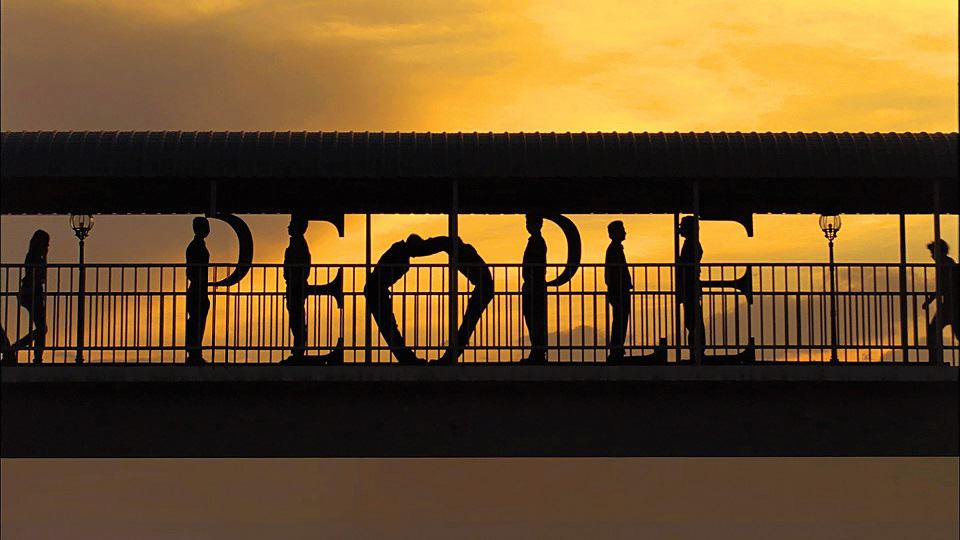 תערוכה זגמייסטר & וולש. כאן כדי לעשות טוב פרסומת לבנק 2010 הצילום באדיבות סטודיו זגמייסטר & וולש