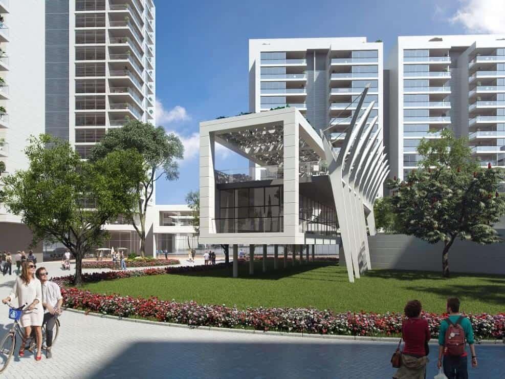 פינוי בינוי הרצליה | הדמיית הפרויקט - שיכון דרום הרצליה // אדריכל ניר חן