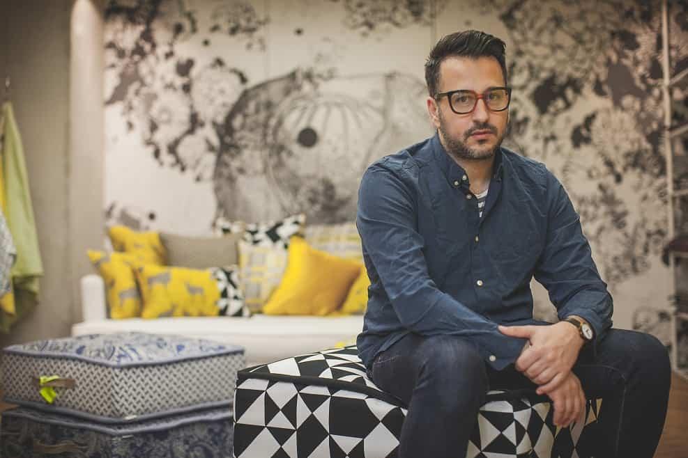 שים אדרי, מעצב הבית של בית שכטר בוטיק // צילום אילן ספרא
