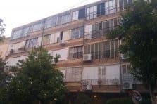בניין ישן ברחוב אברמוביץ בראשון לציון