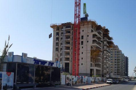 הפרויקט של יורו ישראל באשקלון // צילום: יורו ישראל