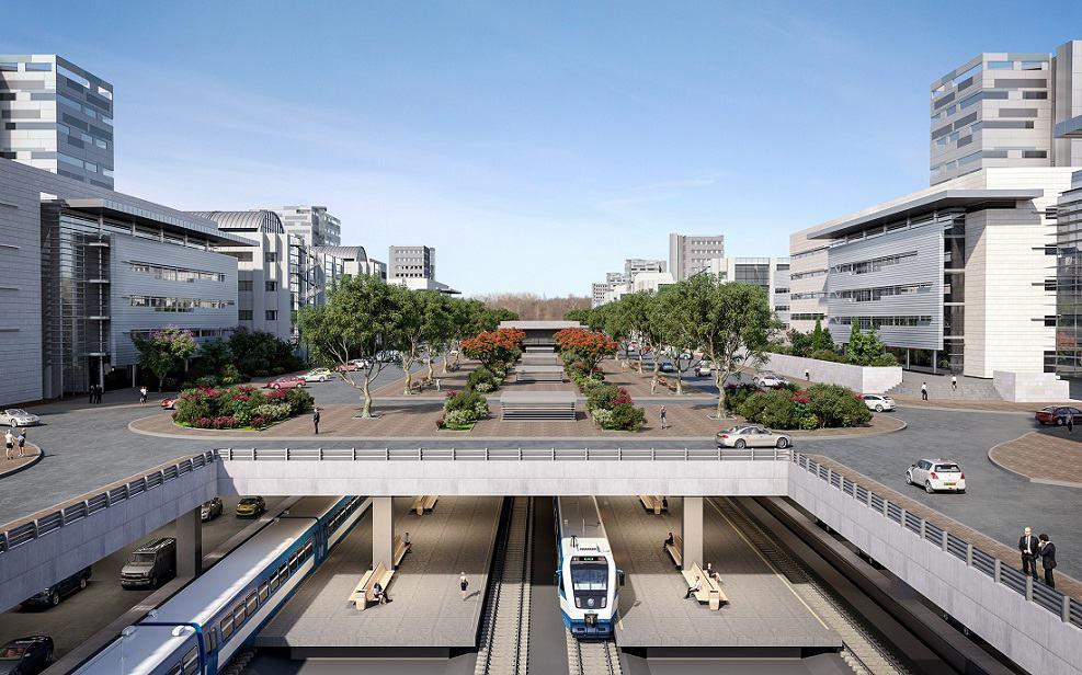 """התחדשות ביבנה תכנון: משרד קולקר אדריכלים // באדיבות דוברות רמ""""י"""