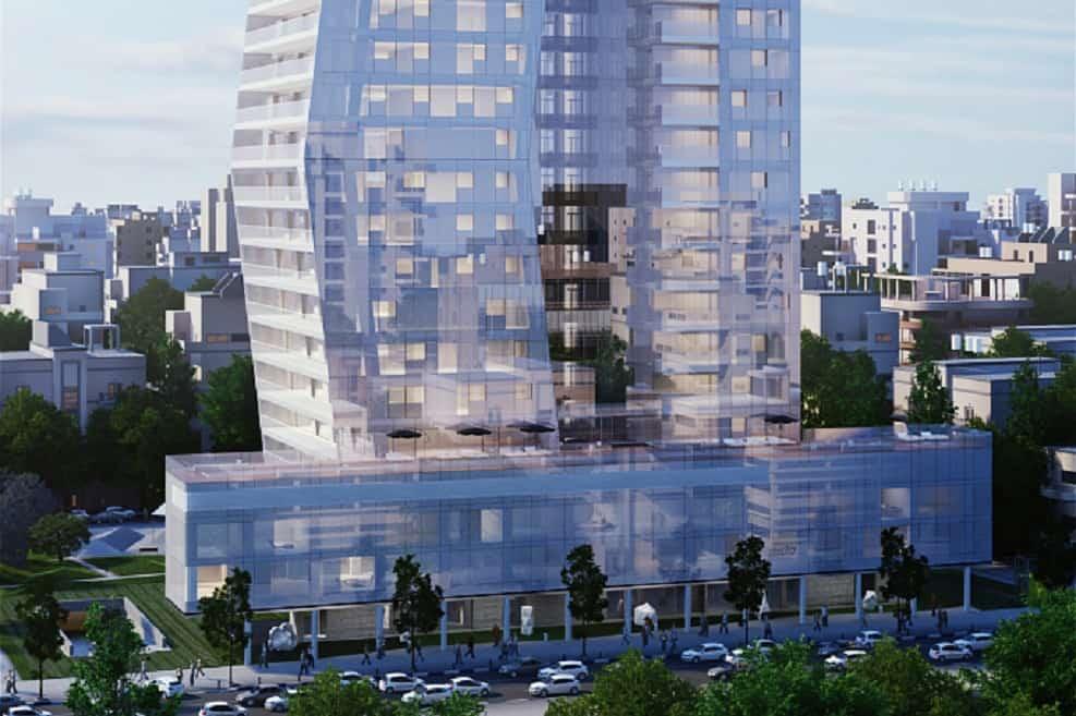 מגדל ארלוזורוב 17 בתל אביב // אייקו