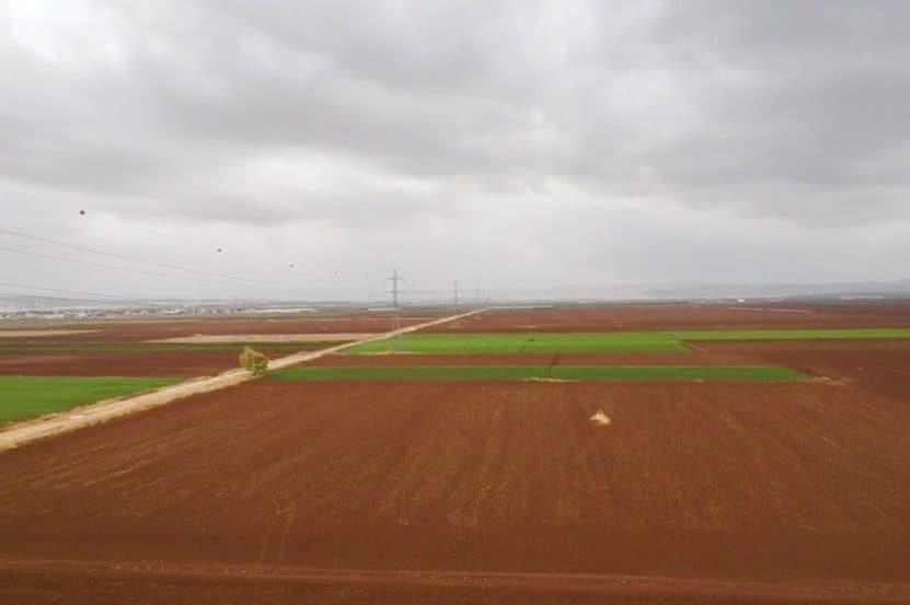 שטח הפרויקט באדיבות דוברות מועצה אזורית הגלבוע