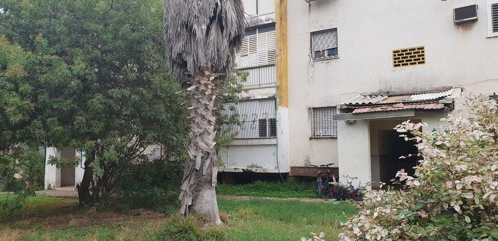 פינוי בינוי ברמת השרון | הבניינים הישנים במתחם הפינוי בינוי ברמת השרון // צילום: מגדילים