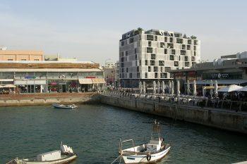הדמיית פרויקט פורט TLV בנמל תל אביב של קבוצת חג'ג'